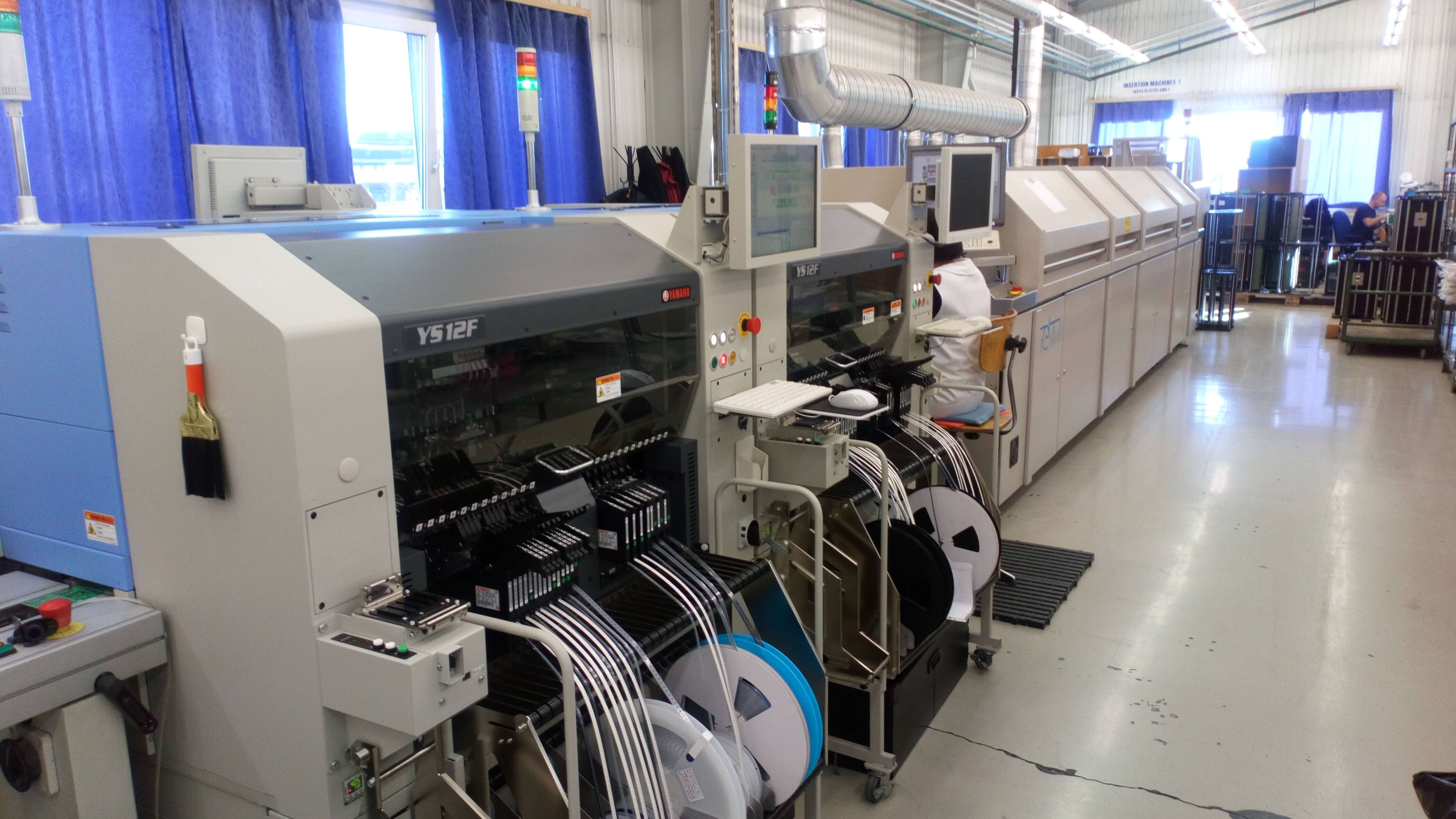 PCB assembly manufacturer, Yamaha machine