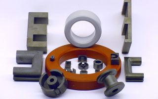 Electronic assembly, ferrite products