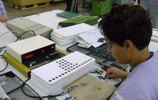 Ferrites testing procedure