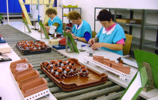 Production of inductors