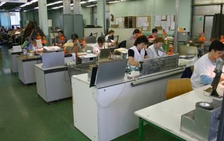 Magnetic card head production