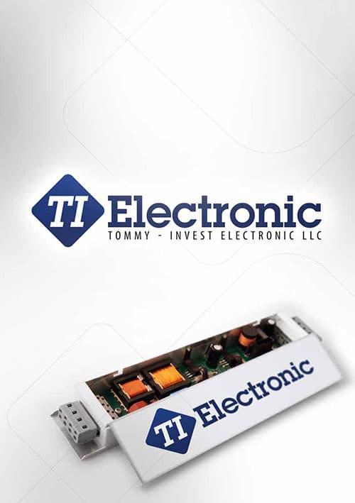 Electronic manufacturing - catalogue lighting